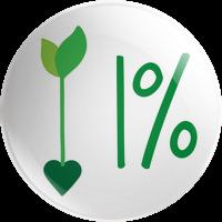 1% badge