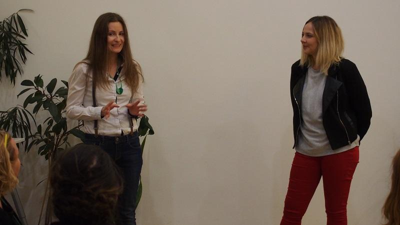 Matkovics Anna önkéntesünk és Cserta Szandra